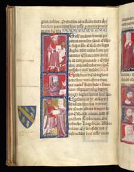 Portraits Of Laymen, In Thomas Walsingham, Catalogue Of the Benefactors Of St. Albans Abbey